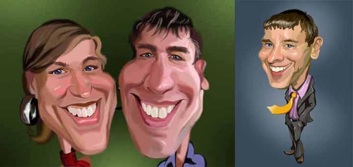 Creare caricature foto online 11